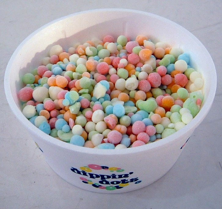 alchohol infused dippin dots