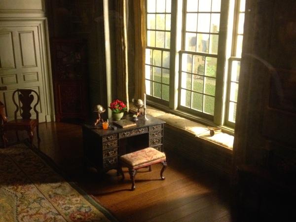 jane austen writing thorne rooms chicago art institute