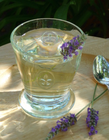 Provence lavender cocktail