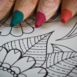 Stress Relief: Wine, Coloring Book, or Both?